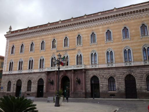 Palazzo Giordano Credito Sardo - Sassari